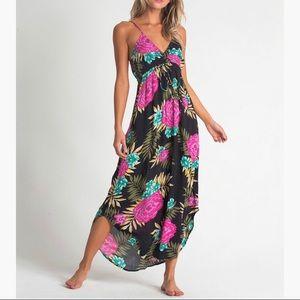 NWT Billabong Floral Maxi Dress